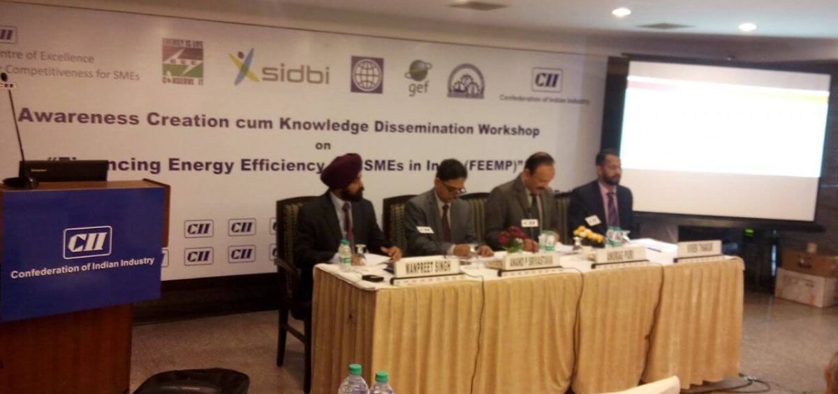 Megrisoft Baddi Unit Attended Awareness Session on Financing Energy Efficiency at Hotel Le Mariet, Baddi, Himachal Prades
